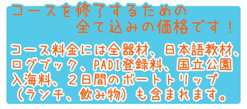 ピピ島ダイビングライセンスPADIオープンウォーターダイバーコース特徴4