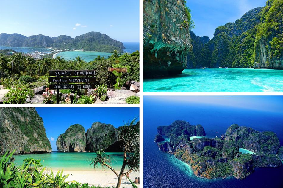 ピピ島 ツアー ピピ島シュノーケリング プーケット旅行 タイ旅行