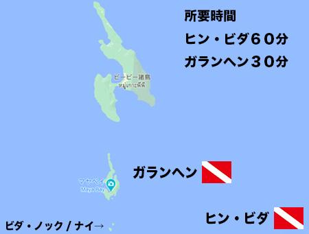 ピピ島ダイビング/ダイブサイト レオパードシャーク